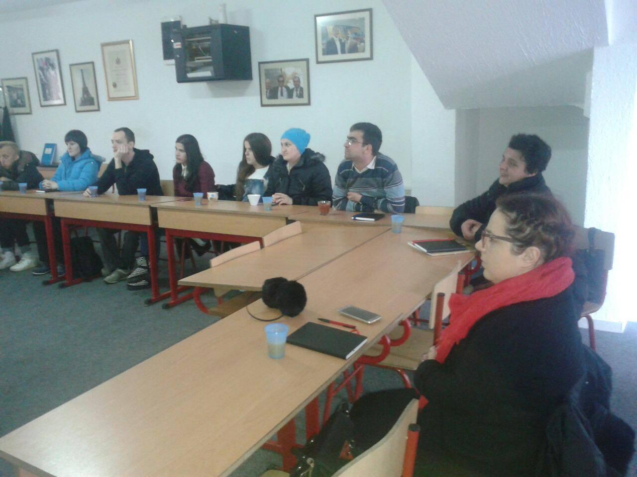 Počela obuka OSI za rad na SOS liniji za bezbjednost