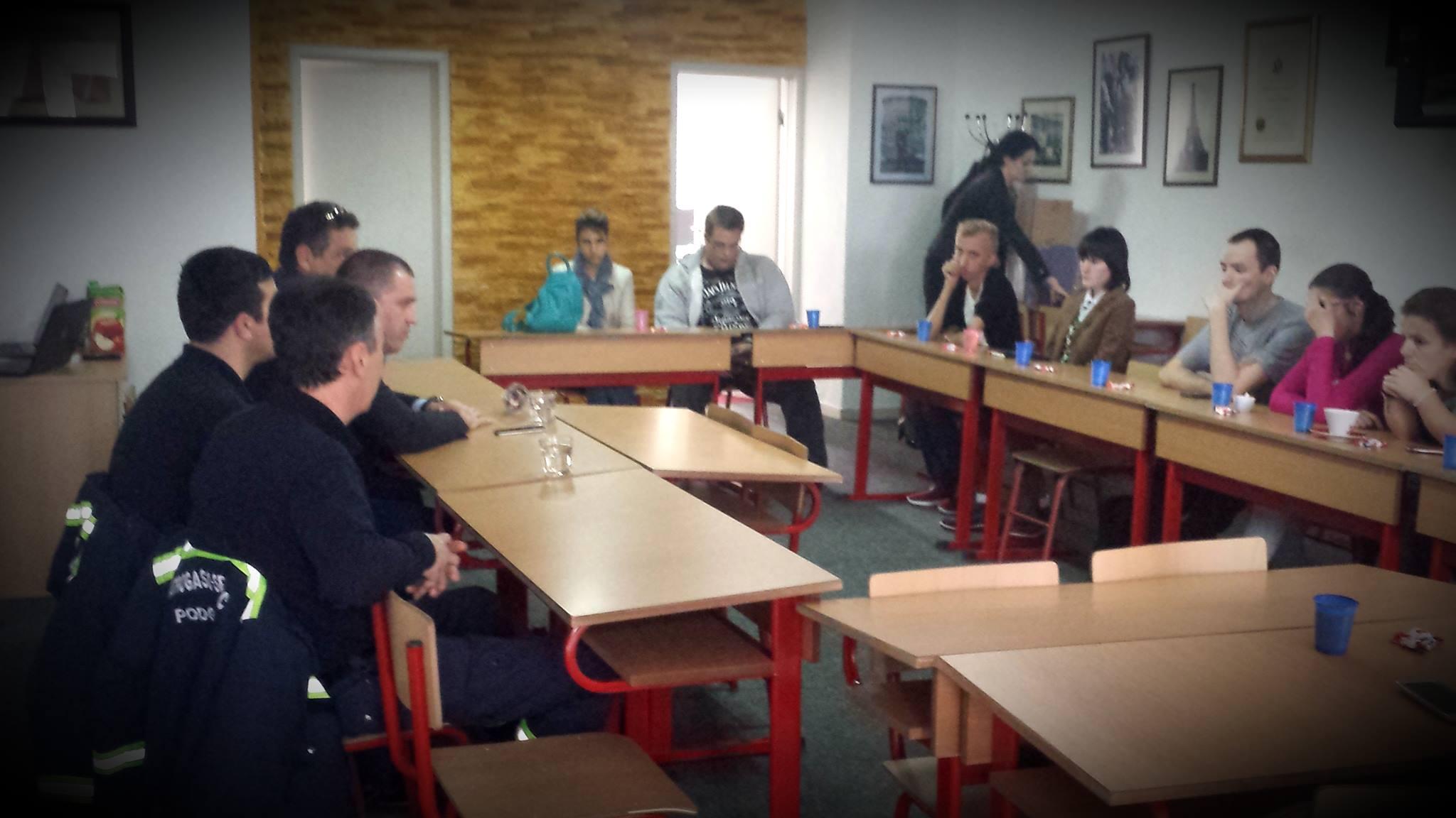 Obuka vatrogasne jedinice – Podgorica