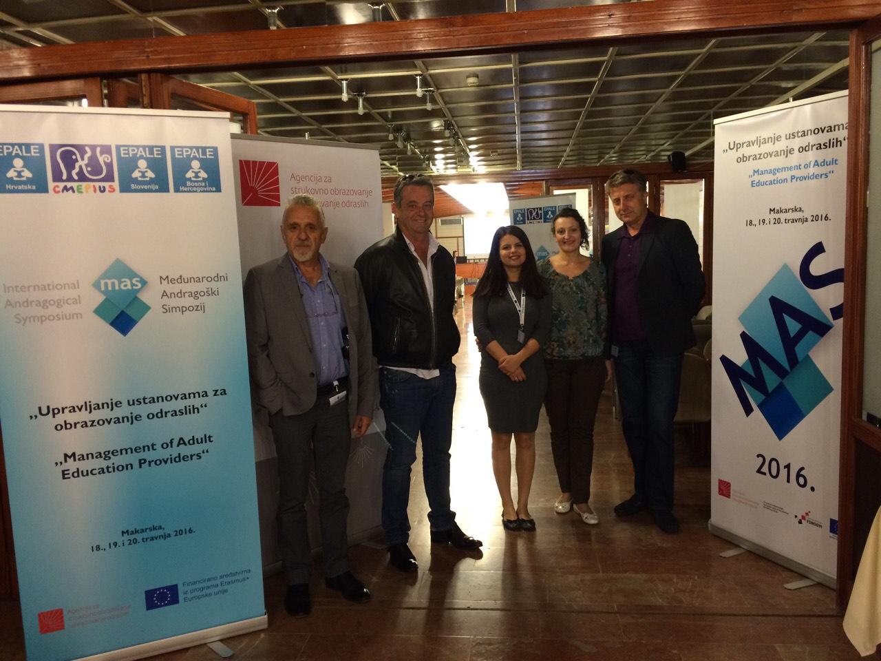 Predstavnici Crne Gore na IV Međunarodnom andragoškom simpozijumu u Makarskoj