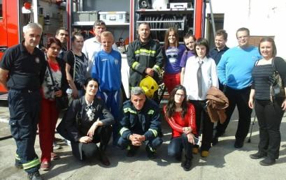 Posjeta Službi zaštite i spašavanja –  Podgorica 06. 05. 2016.