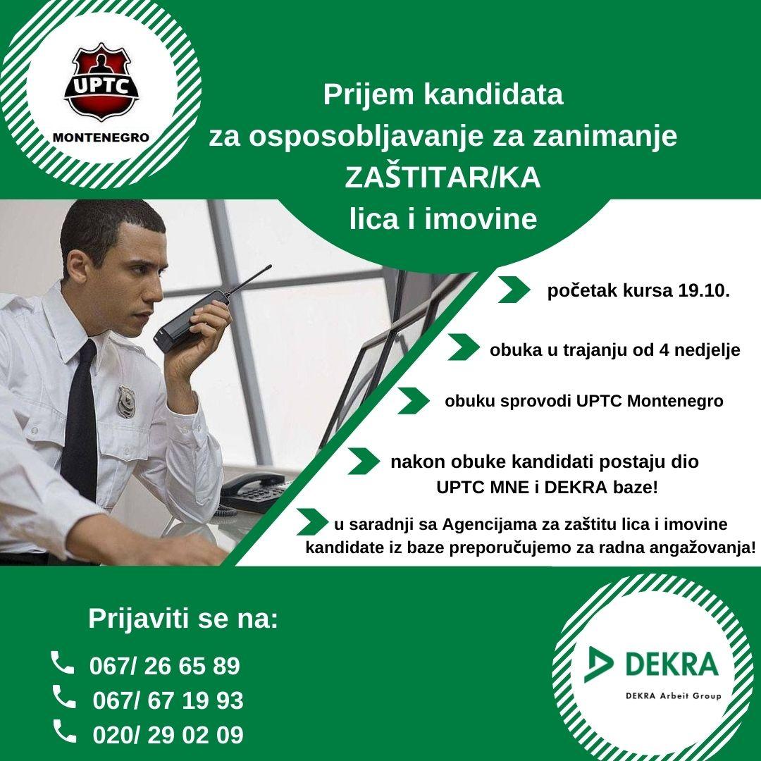 UPTC MNE oglas